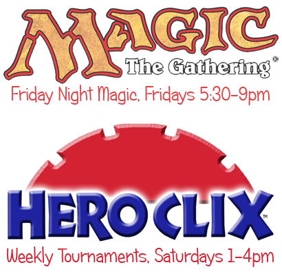 Magic the Gathering &amp; Heroclix @ the Comic Bug