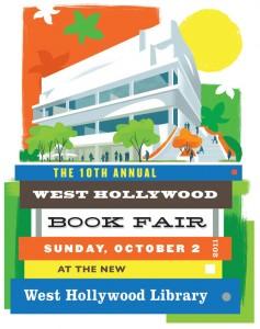 10th Annual West Hollywood Book Fair Art